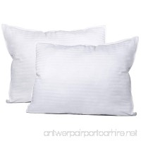 Dormire 2 Pack Of Queen Sized Super Plush Gel-Fiber Filled Pillows - B01MQY4XMH