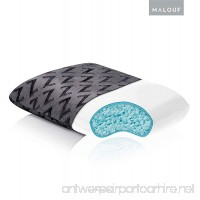 MALOUF Z Shredded Gel-Infused Memory Foam Pillow by with Soft Rayon from Bamboo Cover - Travel Size - B00V3RFX92