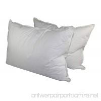 Manchester Mills Down Dreams Standard Size Medium Firm Pillow Set - 2 Pillows - B0060OJ2DG