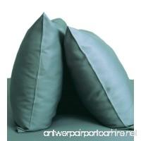 Cariloha Resort Bamboo Pillowcases by 2 Piece Pillowcase Set - 100% Viscose From Bamboo Bedding (Standard Tahitian Breeze) - B07846G1TP
