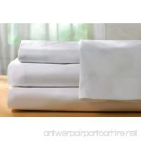 Pacific Linens White Pillowcases  180 Thread Count 2-Pack Size (Standard) - B019L6CIB2