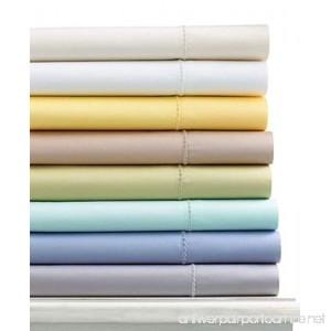 Martha Stewart Collection Bedding 300 Thread Count Cotton Twin Flat Sheet - B00O3PV6UQ