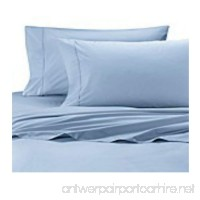 Wamsutta Cool Touch Percale Cotton Full Flat Sheet in Light Blue - B07DZ2DYN1