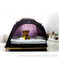 CAMP 365 Child's Indoor Privacy and Play Tent on Bed Sleep Cozy in Drafty Room (Double Starlight) - B07198PM26