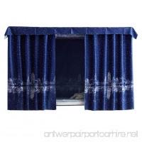 FANCY PUMPKIN Simple Dormitory Bunk Bed Curtains Dustproof Bedroom Curtains Shading Cloth  C-03 - B07D8RDN9H