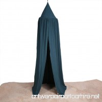 Kids Bed Canopy Mosquito Net Canopy Baby Kids Play Tent Curtains for Kids Indoor Outdoor Playing and Home Bedroom Decoration Dark Green - B06ZXRVG9Y