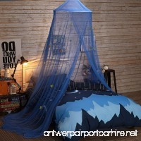 YOUOR Blue Star Mosquito Net Dome Bed Canopy Baby Bed Tents Netting - B072BZ38K7