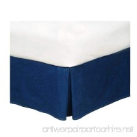 American Denim Bed Skirt Size: Queen - B002HIH1SC