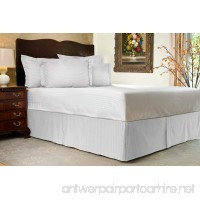 "Comfort Beddings 800 TC 3pc Bedskirt 15"" Drop length 100% Egyptian Cotton Solid - B0159U4L6Y"