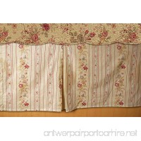 Greenland Home Antique Rose Bed Skirt Queen - B00L441ZIC