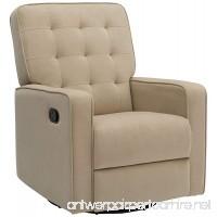 Delta Home W4528110C Grant Recliner Featuring LiveSmart Fabric by Culp  Adult  Sisal - B07B4JJW7K