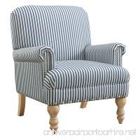Dorel Living DA7902-BL Jaya Accent Chair Casual Blue - B078Y49NC6