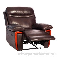 Merax Massage Recliner PU Leather Lounge with Heat and Massage Vibrating Sofa Chair - B072KDTT19