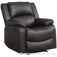 Relax A Lounger Warren Reclining Chair  Java         - B016ZYVXEG