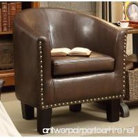 Rosevera Home Duilio Barrel Chair - B01C7UWCF6