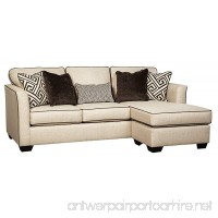 Benchcraft - Carlinworth Contemporary Sofa Chaise - Linen - B074N6R5FH