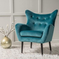 Christopher Knight Home 298850 Alyssa Arm Chair Dark Teal - B07CDZ1SHH