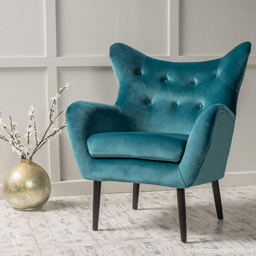 Christopher Knight Home 298850 Alyssa Arm Chair Dark Teal   B07CDZ1SHH