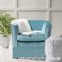 Christopher Knight Home 298870 Cecilia Arm Chair Blue - B07BYCVK7P