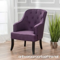 Christopher Knight Home 299253 Sophia Arm Chair Plum - B07CDZYY5F