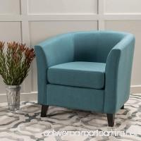 Christopher Knight Home 299526 Preston Arm Chair Dark Teal - B07CBG496R