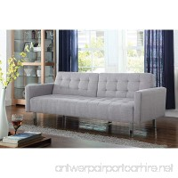 Coaster Home Furnishings 505616 Living Room Sofa Bed Light Grey - B077ZXD7D9