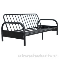 Home Source Futon Frame with 29 Arms 54 x 77.5 x 32.63 - B00DVNTHEI