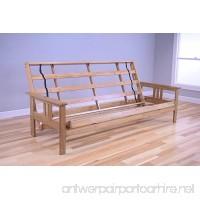 Kodiak Furniture KF Monterey Queen Size Futon Frame  Butternut - B01DPWK80Q