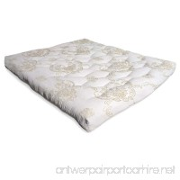 "A.Diamond LUX8T3FWC Luxurious Organic Cotton and Wool Futon Mattress  8""/Luxurious Twin - B01G3H9GBW"