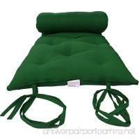 Brand New Hunter Green Traditional Japanese Floor Futon Mattresses  Foldable Cushion Mats  Yoga  Meditaion. - B00A10S08I
