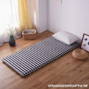 Dormitory bedding mattress Tatami floor mat Flannel Plenty thick Floor mat-B 120x200cm(47x79inch) - B07BFBNHS5