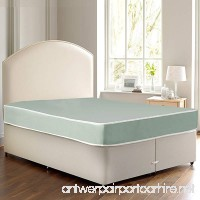 Continental Sleep Waterproof Vinyl Orthopedic Mattress - Ideal for Institutional and Home Health Care Use - Innerspring System – Twin Size - B017KGWQCG