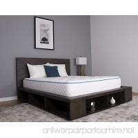Dreamfoam Bedding Arctic Dreams 10-Inch Cooling Gel Mattress Queen - B013L4ZWWW