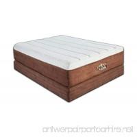 DynastyMattress NEW Luxury Grand 15-Inch with 7.5-Inch Memory Foam Mattress  Eastern King Size - B007SOMWAC