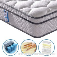 [Limited Offer] Vesgantti 10.2 Inch Multilayer Hybrid Twin Mattress - Multiple Sizes & Styles Available  Ergonomic Design with Memory Foam and Pocket Spring/Medium Plush Feel - B07D54C6MJ