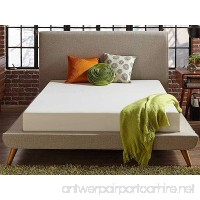 Live and Sleep - Resort Classic New 8-Inch Queen Size Cooling Medium Firm Memory Foam Mattress and Shredded Form Pillow  Low VOC Certi-Pur Certified - B073WKCTS7