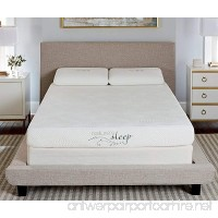 Nature's Sleep 800LP333 Gel Memory Foam Mattress Twin - B01M35MG4L