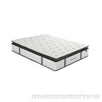 Suiforlun 12 Inch Pillow Top Gel Memory Foam and Independently Encased Coils Innerspring Hybrid Mattress Queen - B076CCYPHH