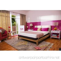 tulo Medium Foam Mattress  Queen Size  for Great Sleep and Balance Between Soft and Firm - B07BNL7D3R