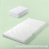 Zinus Gel Memory Foam 3 Inch Tri-Fold Comfort Portable Folding Mattress or Floor Mat Single/Cot Size - B079P6NBXZ