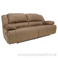 Ashley Furniture Signature Design - Hogan Reclining Sofa - Manual Recliner Couch - Mocha Brown - B01FFSBYO2