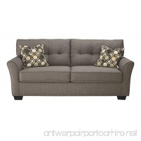 Ashley Furniture Signature Design - Tibbee Full Sofa Sleeper - Sleek Tailored Couch with Pull Out - Slate - B0734QMGZR