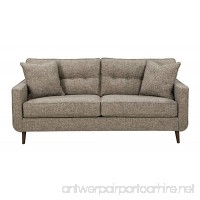 Benchcraft - Dahra Contemporary Upholstered Sofa - Jute Gray - B06WWG9D9F