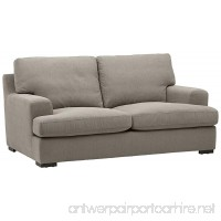 Stone & Beam Lauren Down Filled Overstuffed Sofa 74 W Slate - B0723H8HLM