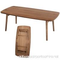 AZUMAYA Folding Coffee Center Table TAC-229 - B0077HY08M