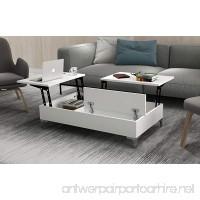 Pazzaz Lift-Top Coffee Table (White) - B07D6DQM2Z