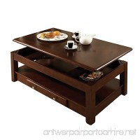 Steve Silver Company Nelson Lift-Top Cocktail Table  Cherry - B01LLGMYGE