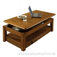 Steve Silver Company Nelson Lift-Top Cocktail Table  Oak - B01LLGMXRE