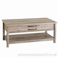 Unique Style and Functionality with Modern Farmhouse Lift-Top Coffee Table  Rustic Gray Finish - B073MPY4ZW