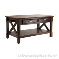 Winsome Wood Xola Coffee Table Cappuccino Finish - B004RKXSYE